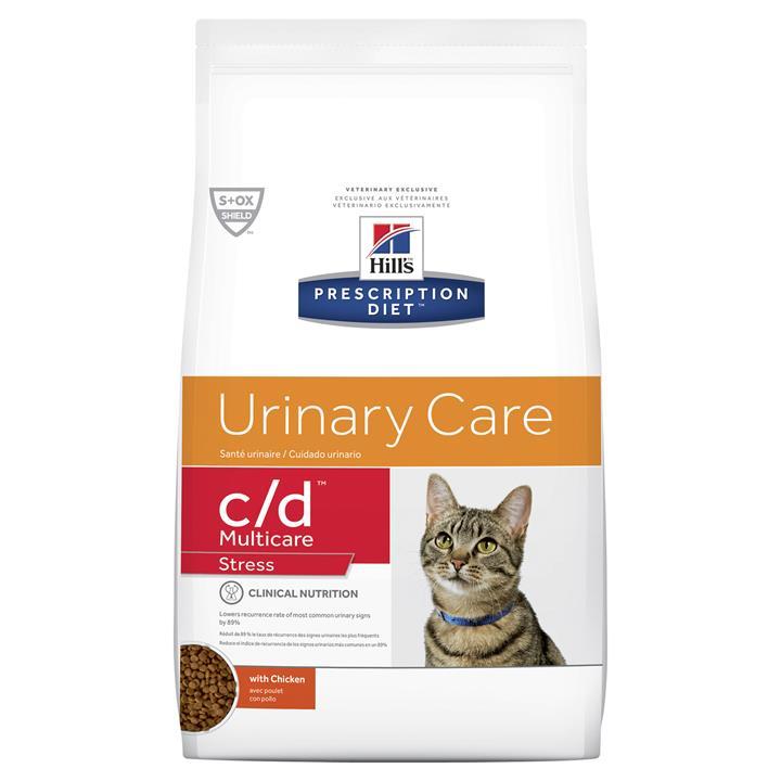 Hills Prescription Diet c/d Multicare Stress Urinary Care Dry Cat Food 7.98kg
