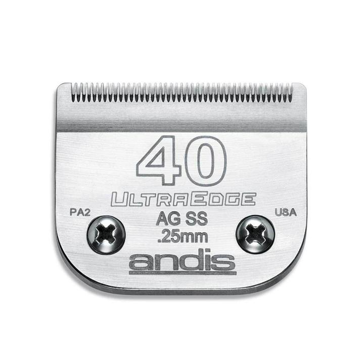 Andis Replacement Ultra Edge Blades [Size: #40]