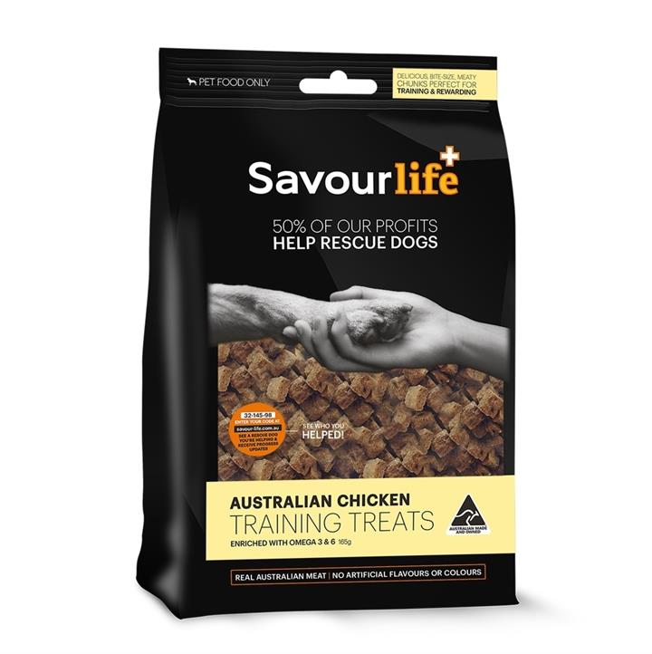 SavourLife Australian Chicken Dog Training Treats 165g