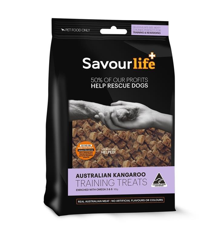 SavourLife Australian Kangaroo Dog Training Treats 165g
