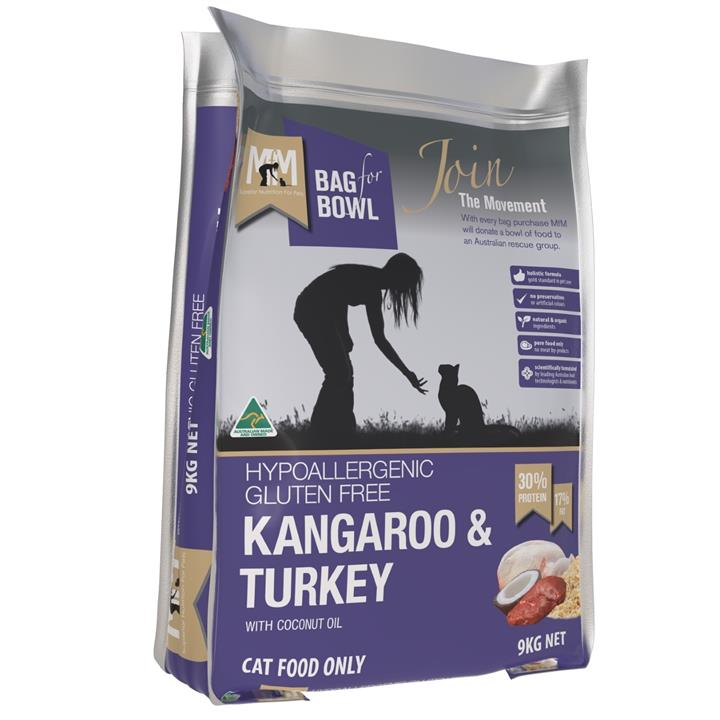 Meals for Meows Kangaroo & Turkey Dry Cat Food - 9kg
