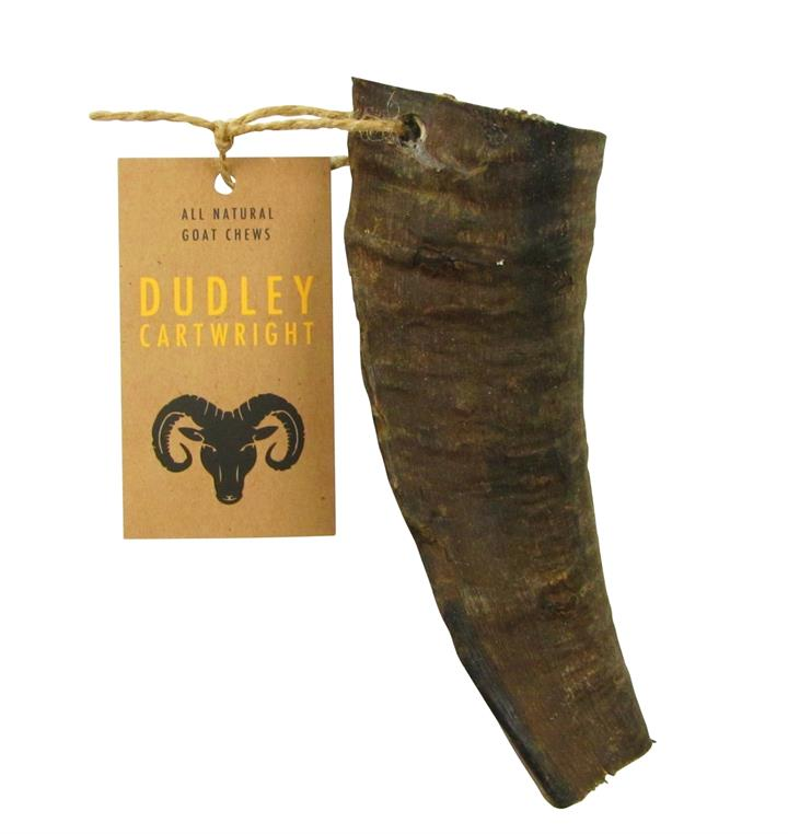 Dudley Cartwright Natural Goat Horns Dog Chews - Cropped