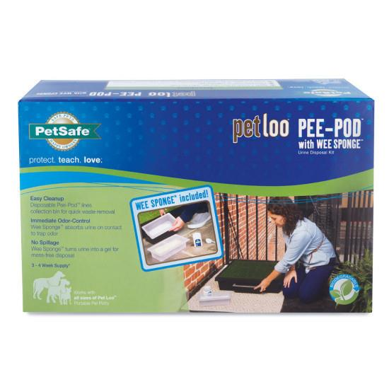 The Pet Loo Replacement Pee Pods 7-pack