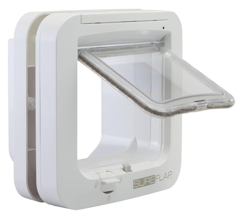 SureFlap Microchip Pet Door for Cats & Dogs - Large-White