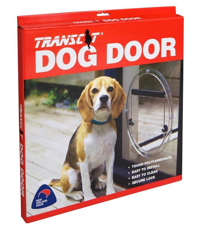 Transcat Pet Door for Cats & Dogs - Large Door for Glass