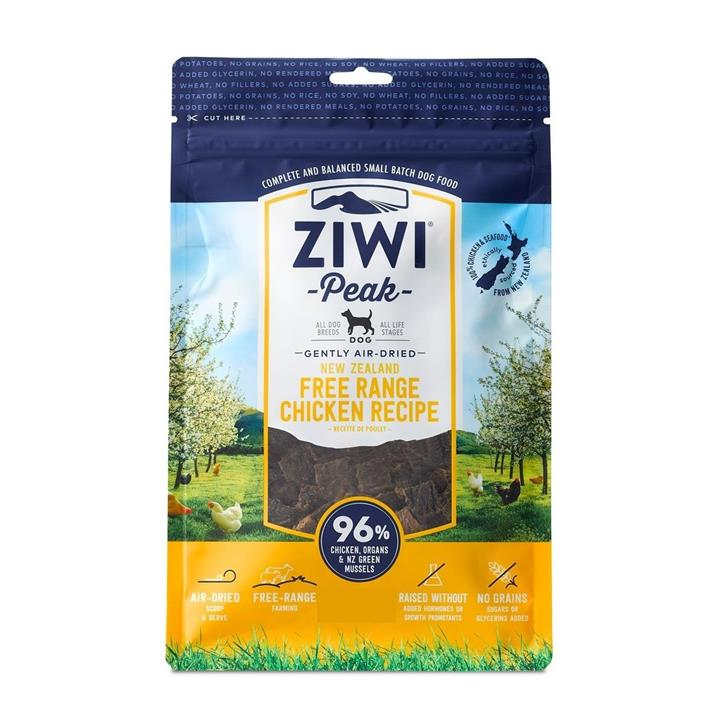 Ziwi Peak Air Dried Cat Food 1kg Pouch - Free Range New Zealand Chicken