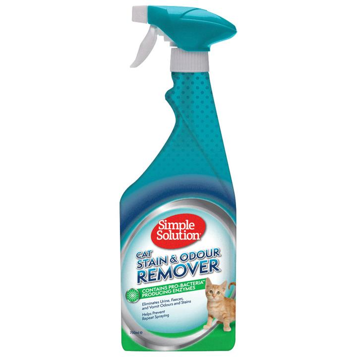 Simple Solution Cat Stain & Odour Remover Enzyme Spray - 750ml