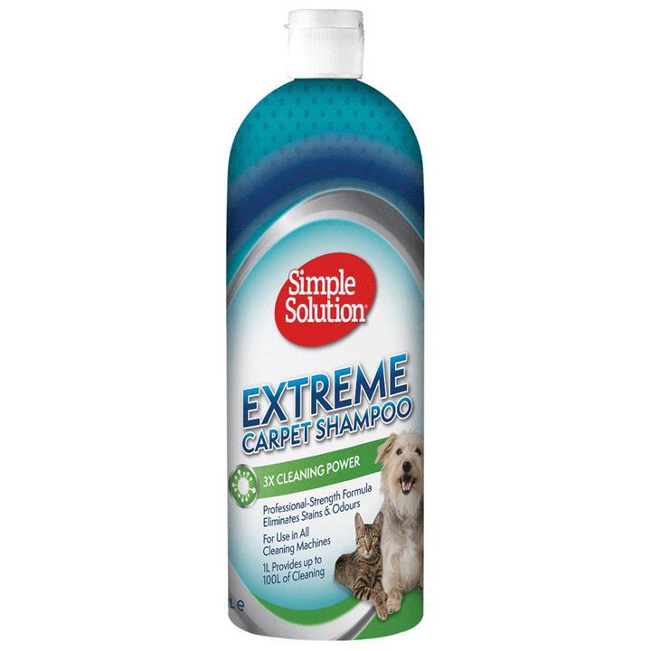 Simple Solution Professional Strength Extreme Carpet Shampoo 1 Litre