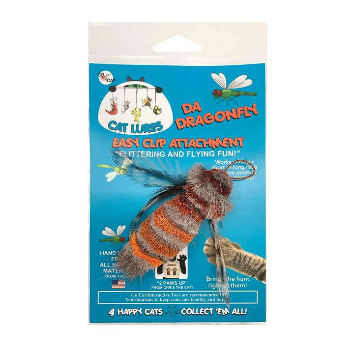 Go Cat Da Dragonfly Replacement Cat Toy Attachment for Da Dragonfly Wand