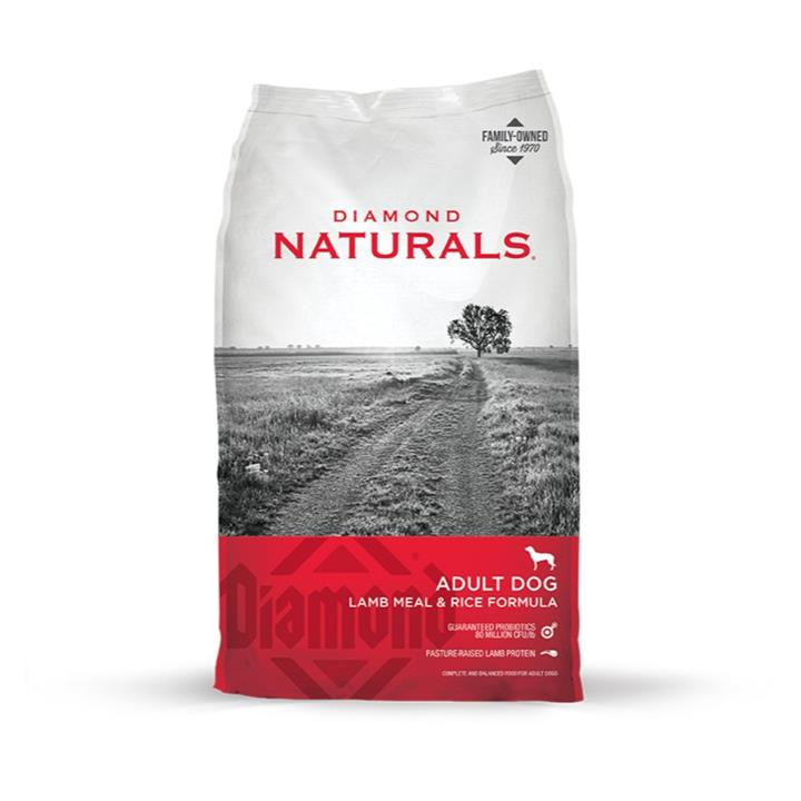 Diamond Naturals Adult Lamb & Rice Dog Food 18kg