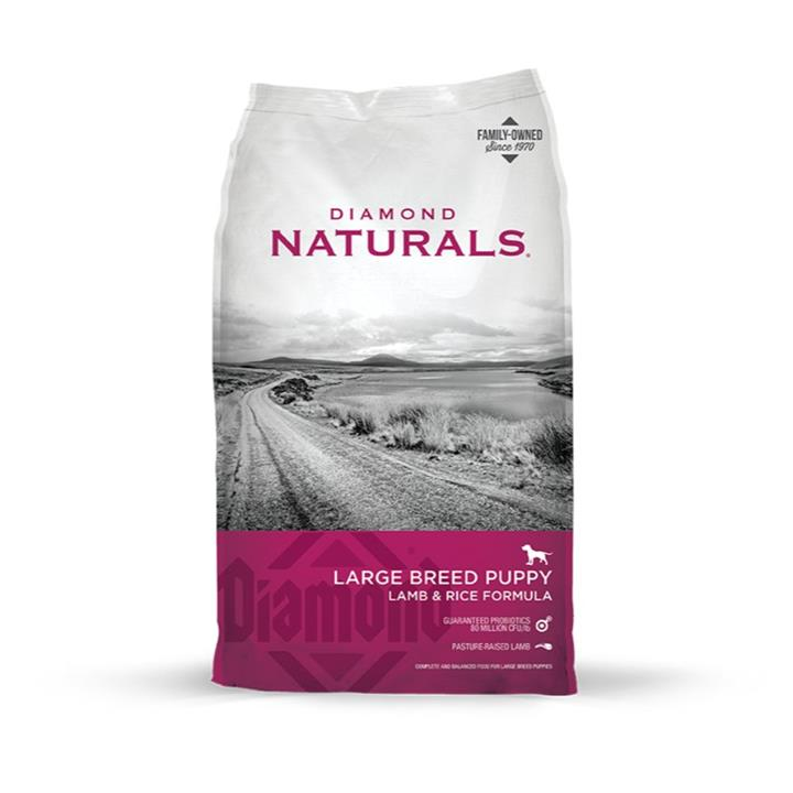 Diamond Naturals Puppy Large Breed Lamb & Rice Dog Food 18kg