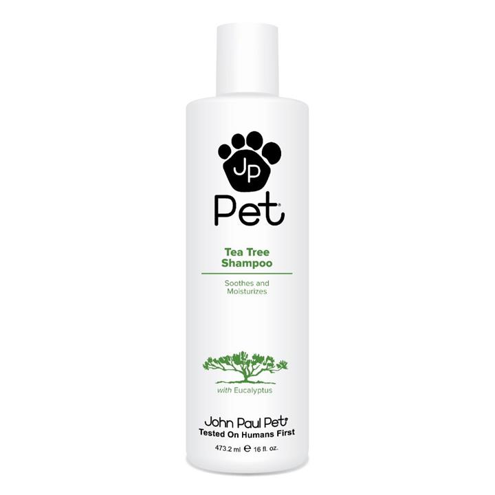 John Paul Pet Grooming Tea Tree Dog & Cat Shampoo 473ml
