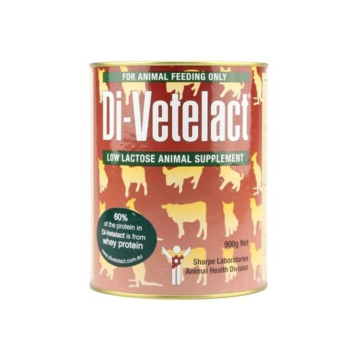 Di Vetelact Low Lactose Animal Supplement 900g