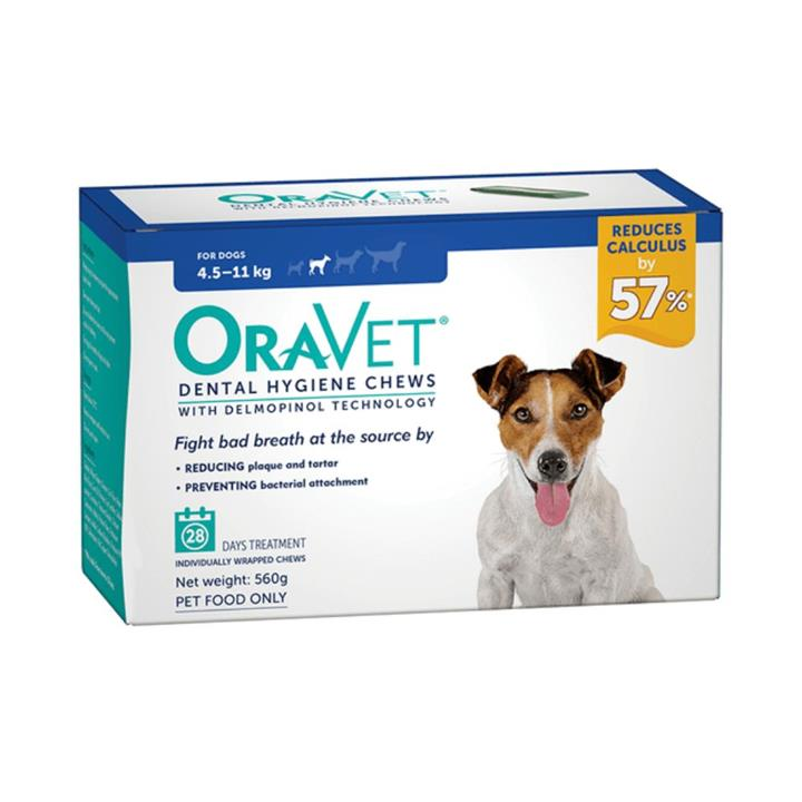 Oravet Dog Dental Hygiene Chews Small