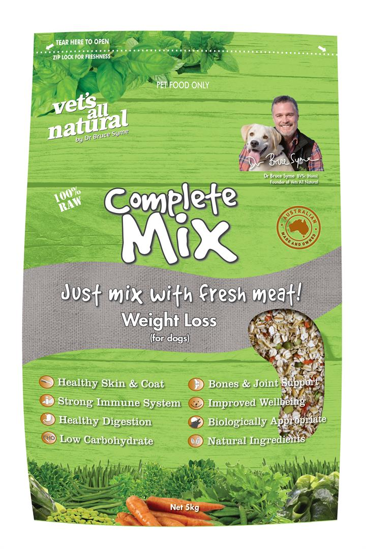 Vets All Natural 5kg Complete Mix Weight Loss