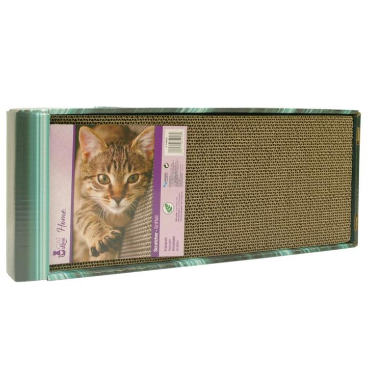 Cat Love Catnip Incline Cardboard Cat Scratcher