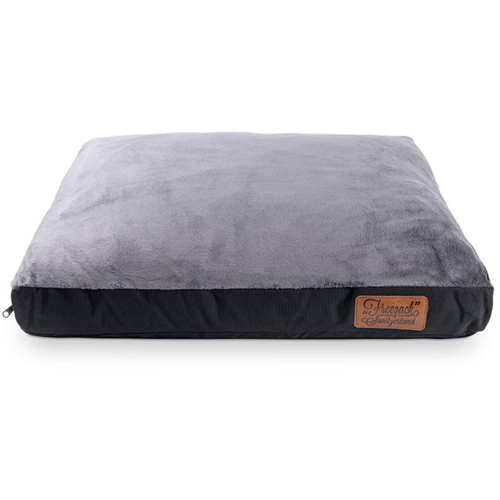 Freezack kNight Mattress Dog Bed Black & Grey Large