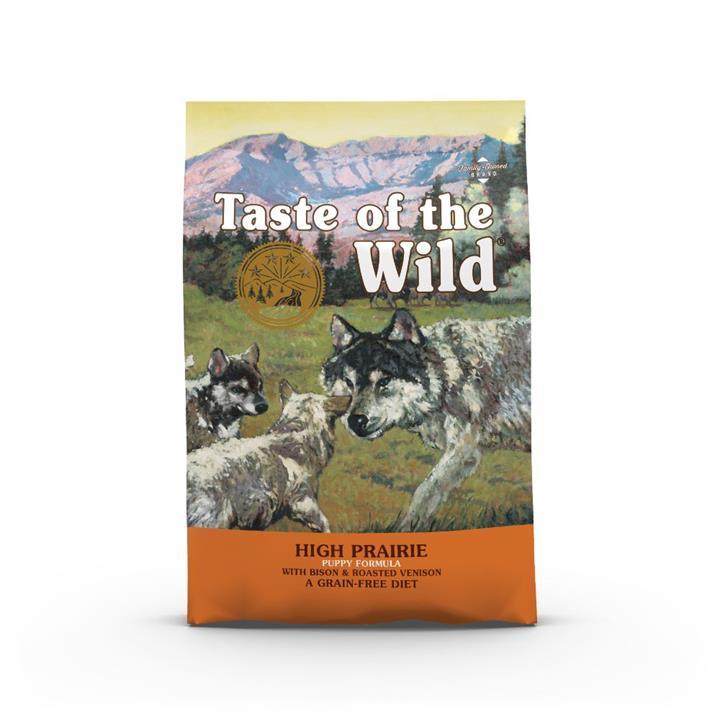 Taste Of The Wild Grain Free High Prairie Bison & Venison Puppy 5.6kg