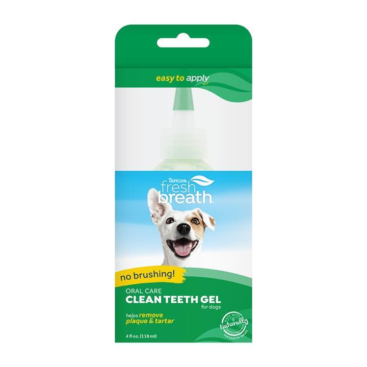Tropiclean Fresh Breath 118ml Clean Teeth Gel