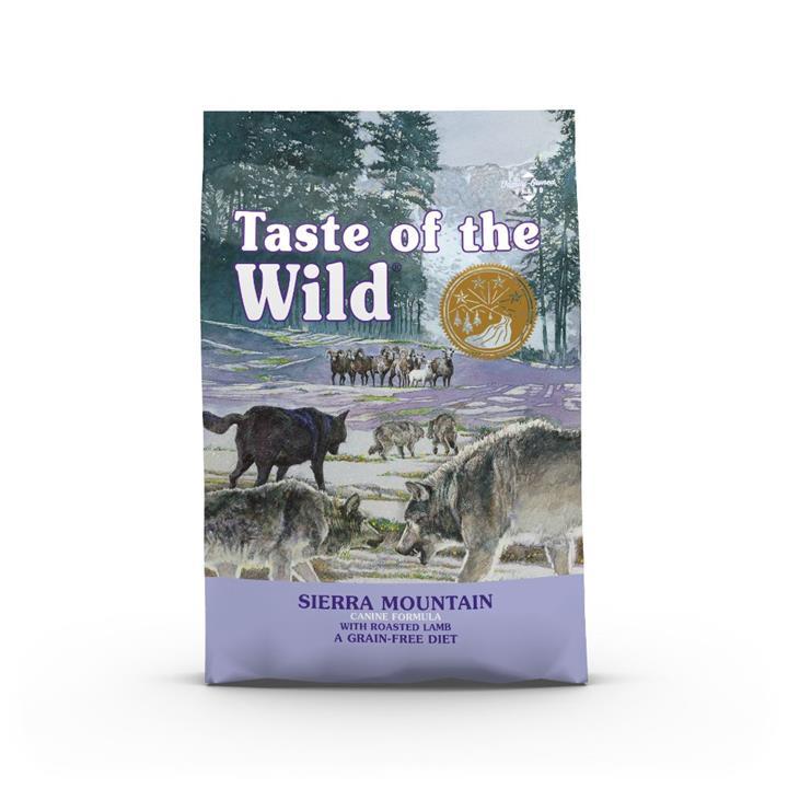 Taste Of The Wild Grain Free Sierra Mountain Roasted Lamb 2kg