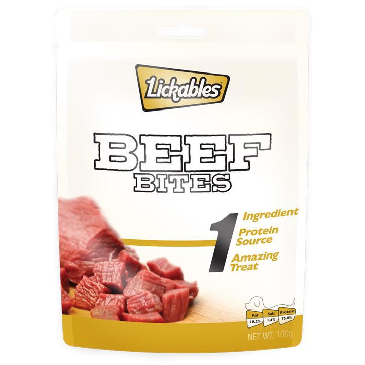 Lickables 100g 1 Beef Bites
