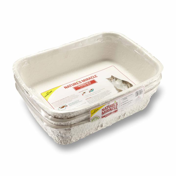 Nature's Miracle 3 Pack Disposable Cat Litter Box