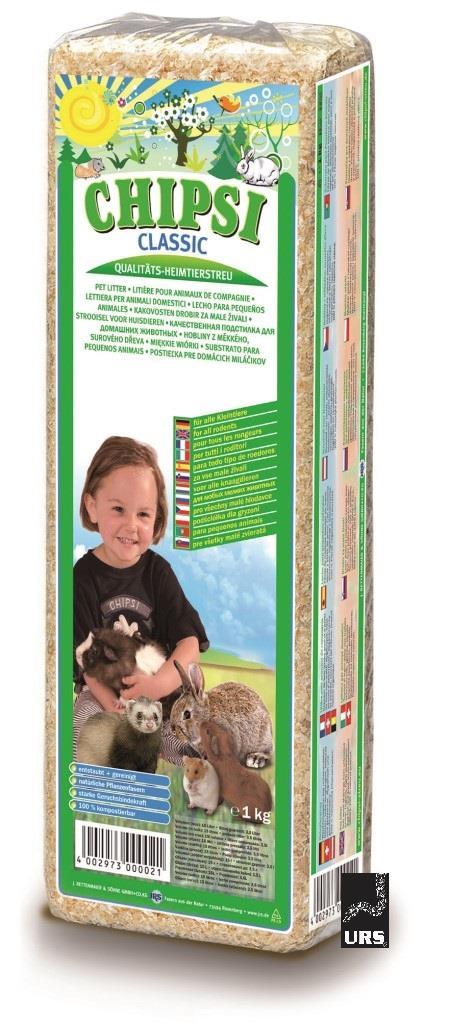 Chipsi Classic Pet Litter 1kg