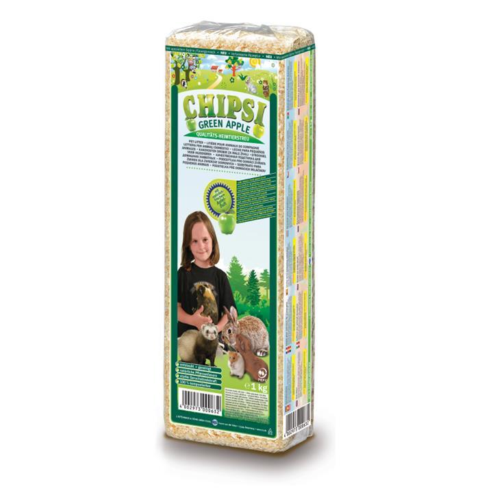 Chipsi Classic Green Apple Pet Litter 1kg
