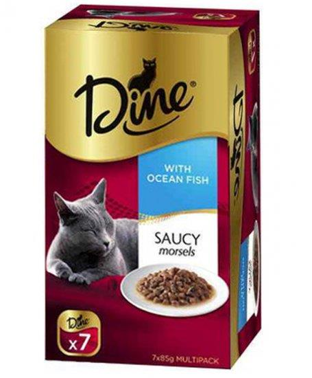 Dine Saucy Morsels with Ocean Fish 7x85g