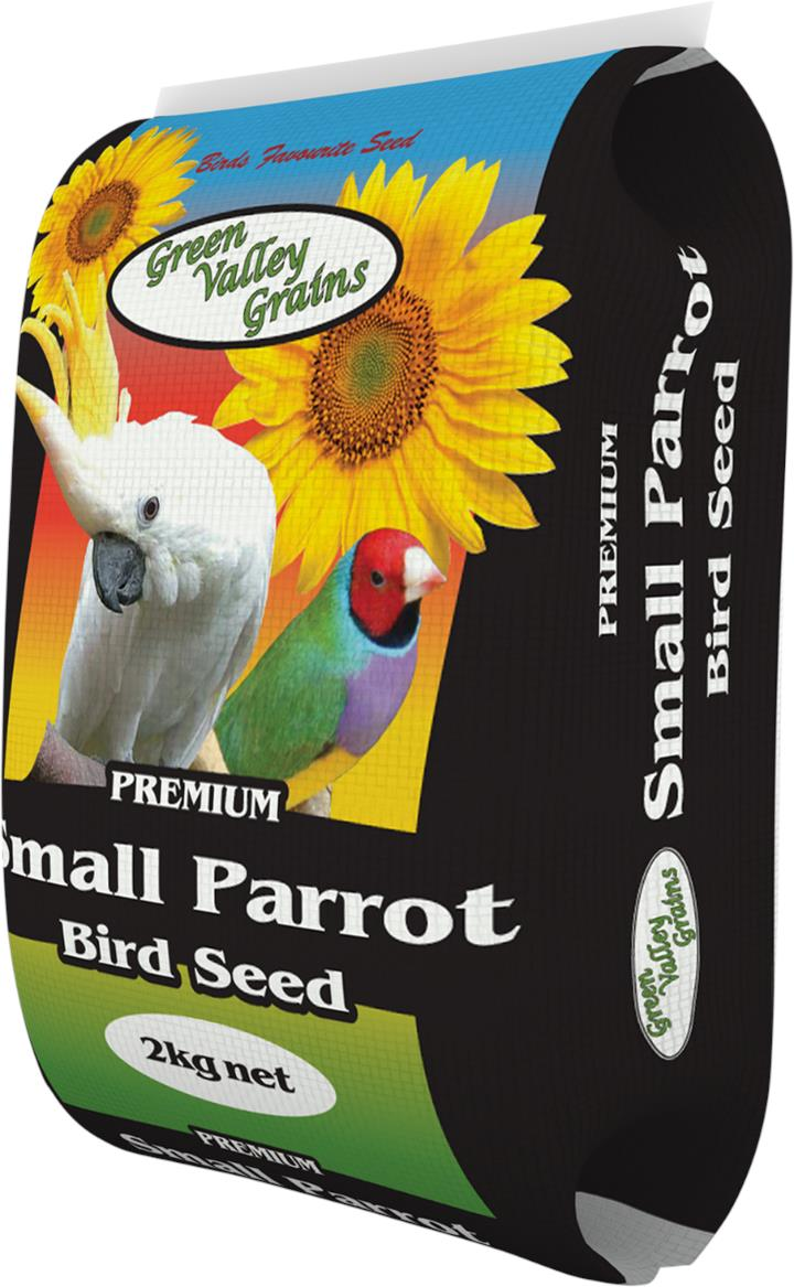 Green Valley Grains Small Parrot Mix 2kg
