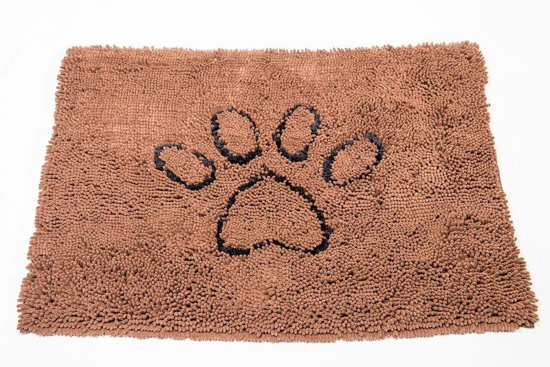 Dog Gone Smart Dirty Dog Doormat Small Brown