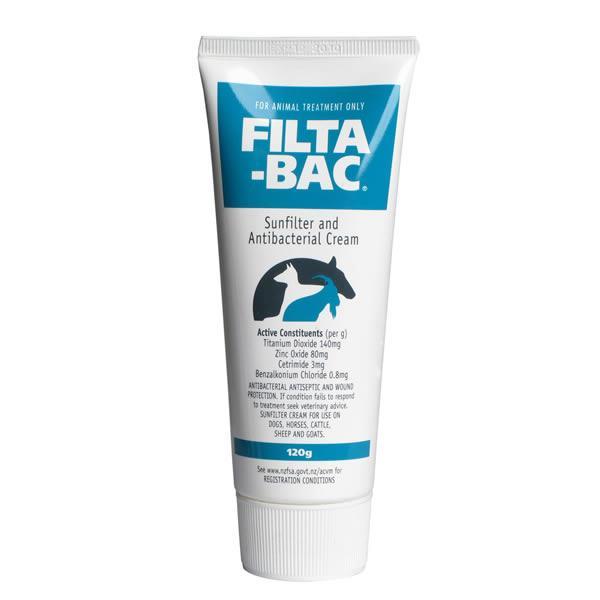 Filta Bac Sunfilter and Antibacterial Cream 120g