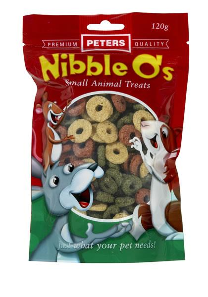 Peters Nibble O's 120g