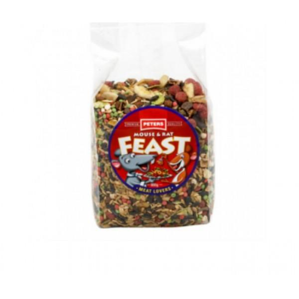 Peters Mouse & Rat Feast Meat Lovers 800g
