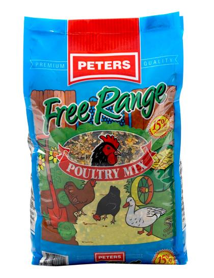 Peters Free Range Mix 20kg