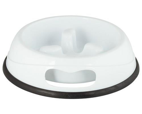 Pawise Dog Bowl Slow Feeder White 1000ml