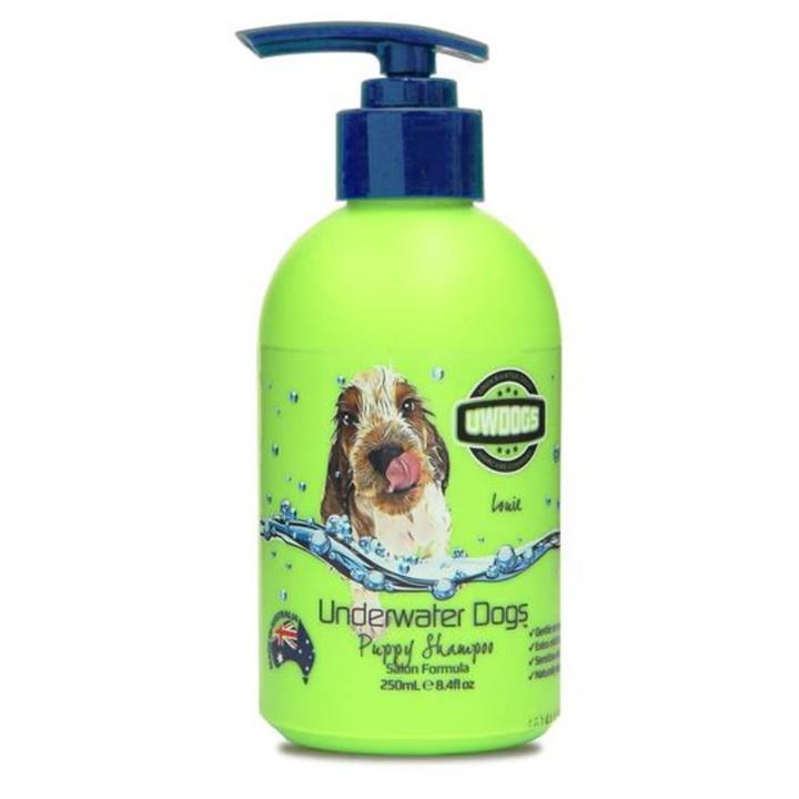 Underwater Dogs Baby Powder Puppy Shampoo 250ml