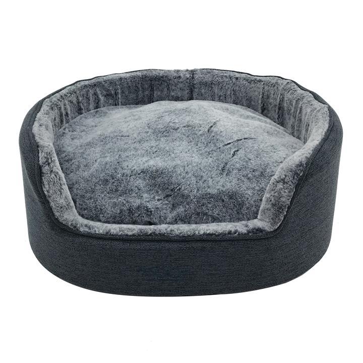 Snooza Buddy Bed Chinchilla Dog Bed Medium