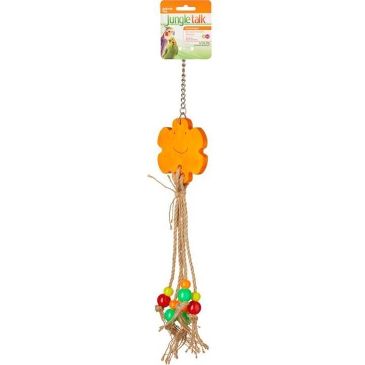 Jungle Talk Loves Me Loves Me Knot Bird Toy
