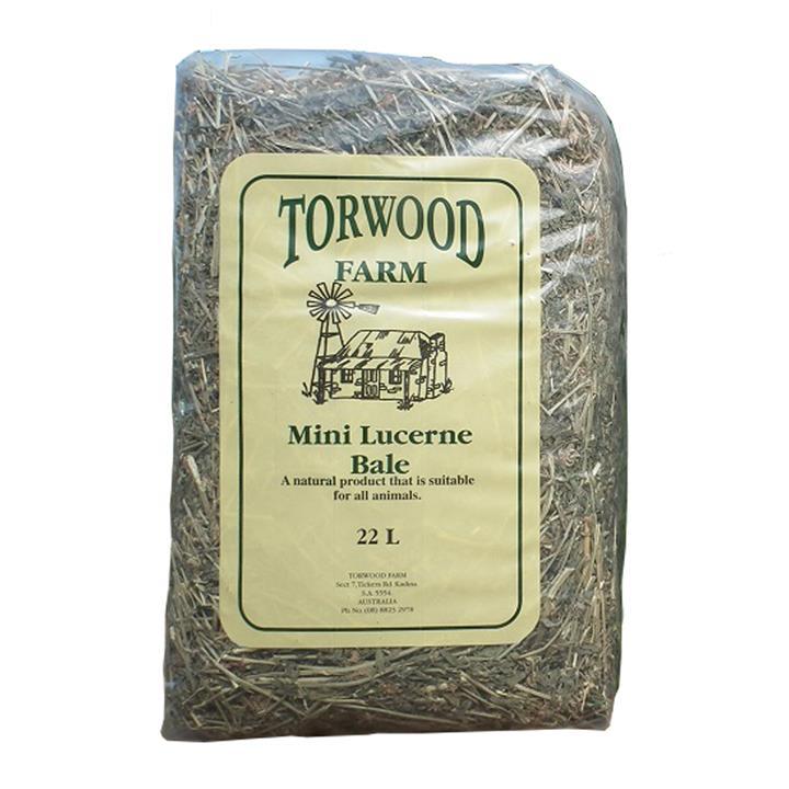 Torwood Farms Mini Lucerne Bale 22L