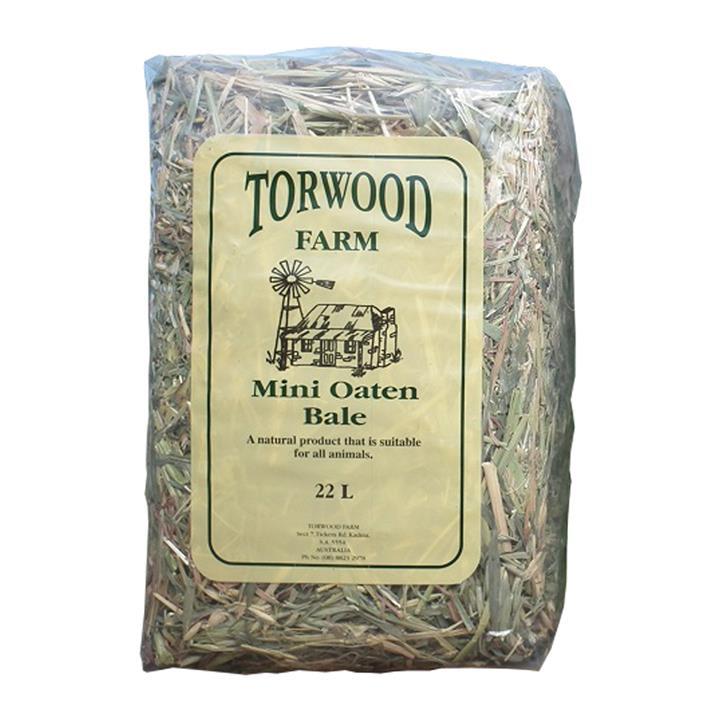 Torwood Farms Mini Oaten Bale 22L