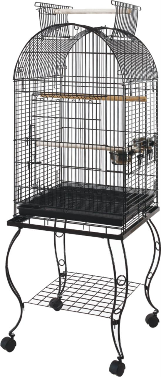 Bono Fido Parrot Bird Cage with Stand 51 51 x 153cm