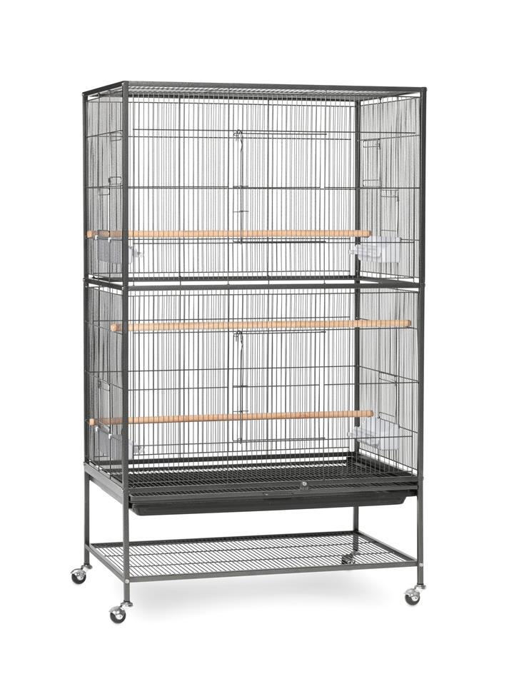 Bono Fido Deluxe Tall Flight Bird Cage on Stand 79 x 52 x 130cm
