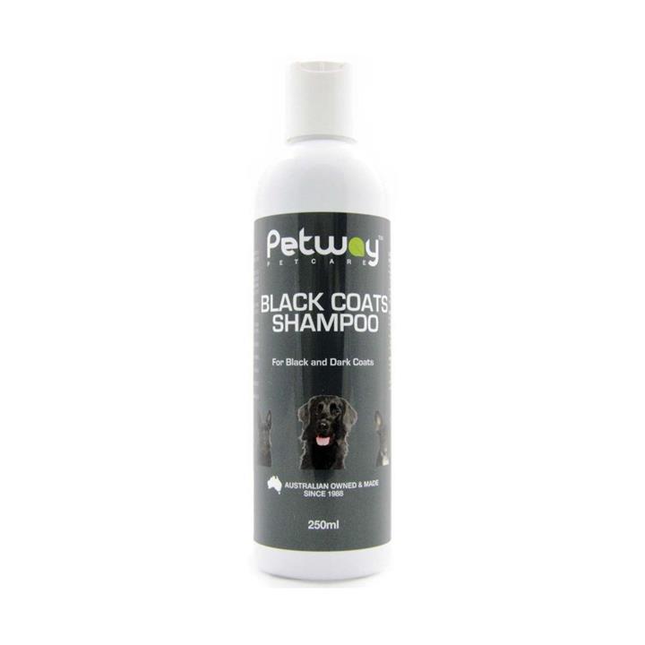 Petway Petcare Black Coats Dog Shampoo 250ml