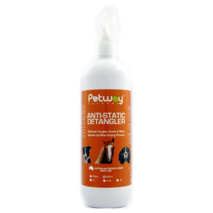 Petway Petcare Anti Static Dog Hair Detangler 500ml