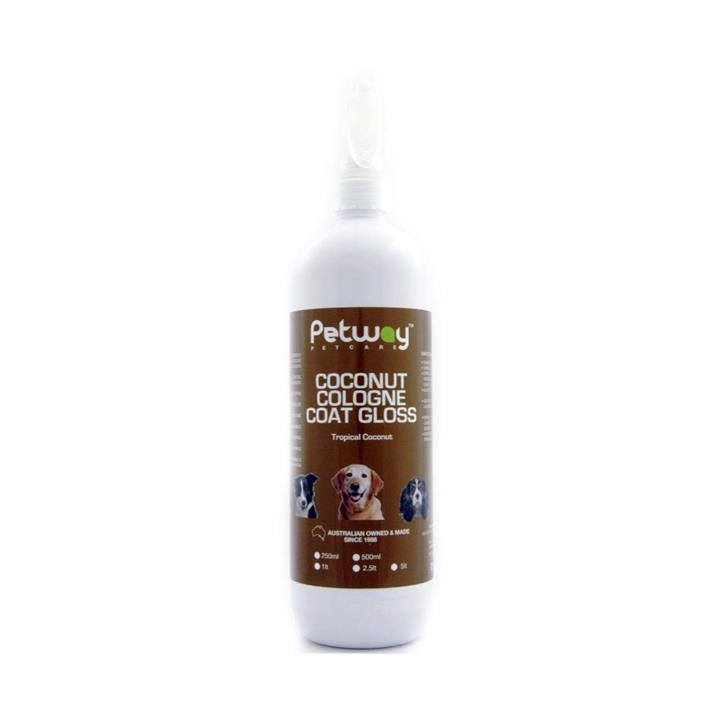 Petway Petcare Coconut Coat Gloss Dog Cologne 500ml