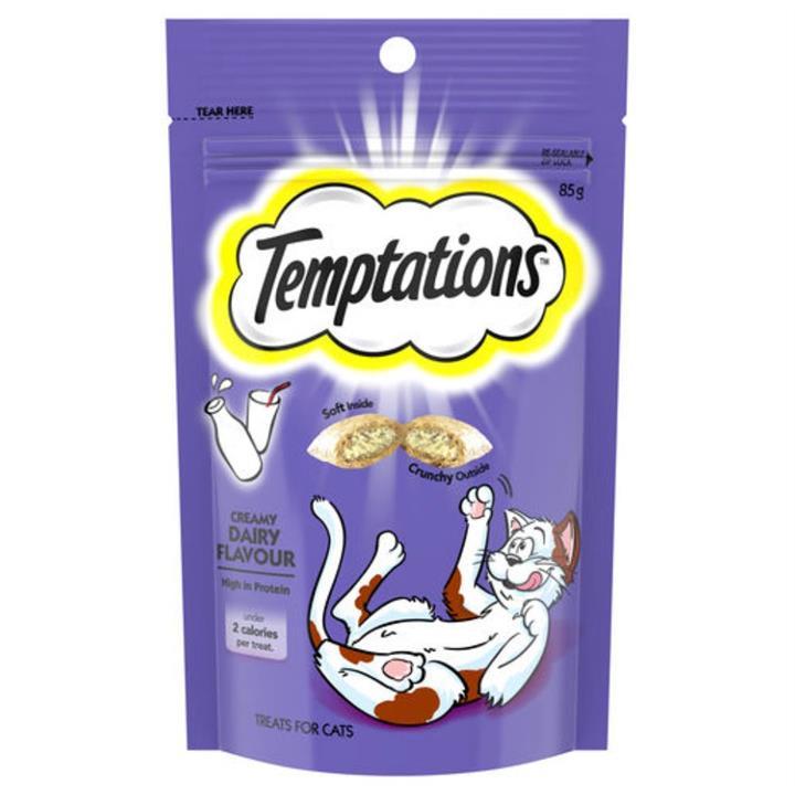 Temptations Creamy Dairy Cat Treat 85g