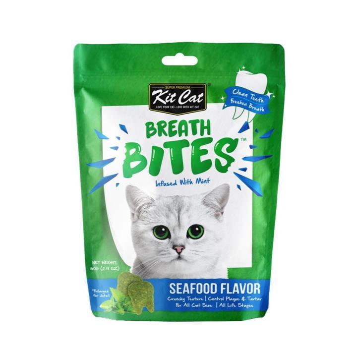 Kit Cat Breath Bites Seafood Cat Treat 50g