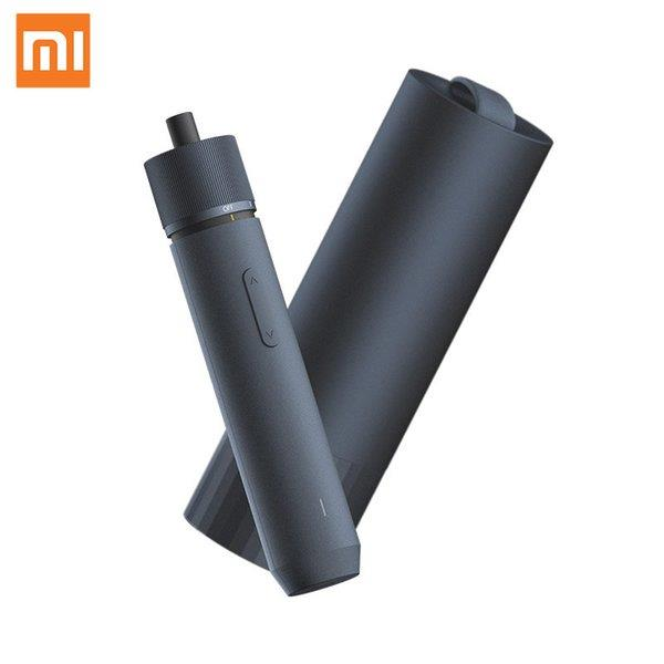 Xiaomi HOTO Straight Handle Electric Screwdriver 3 Speed Torque Rechargeable With Stroage Box LED Light 12 Long Bits
