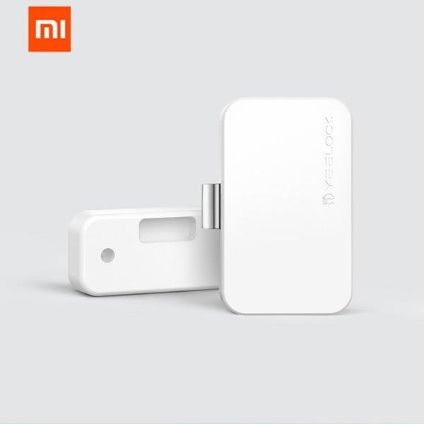 Xiaomi Youpin Yeelock Smart Drawer Cabinet Lock Bluetooth APP Remote Unlock Anti Theft Child Safety File Security Drawer Smart Lock